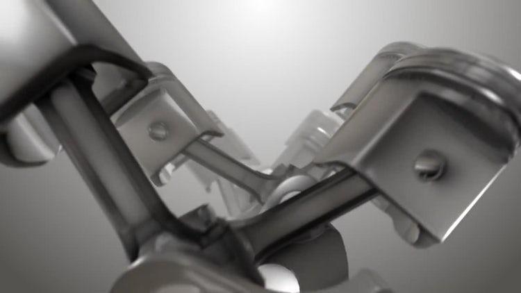 Piston Fly Through: Motion Graphics