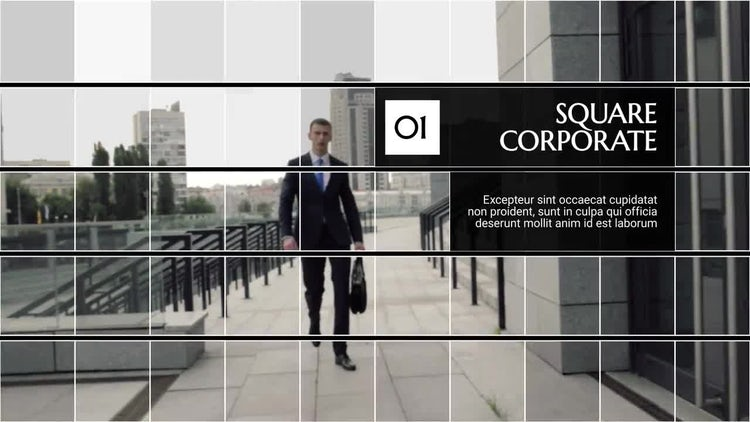 Square Corporate: After Effects Templates