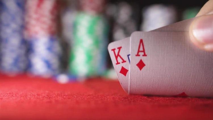 Poker Cards: Stock Video