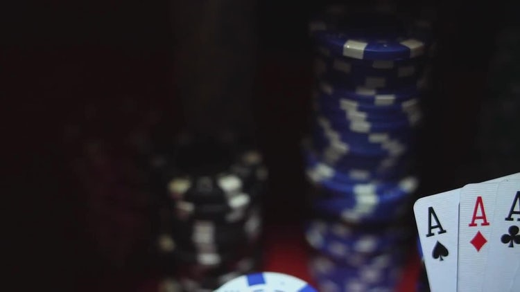 Poker Chips: Stock Video