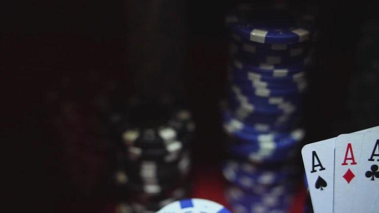Poker Chips: Stock Video