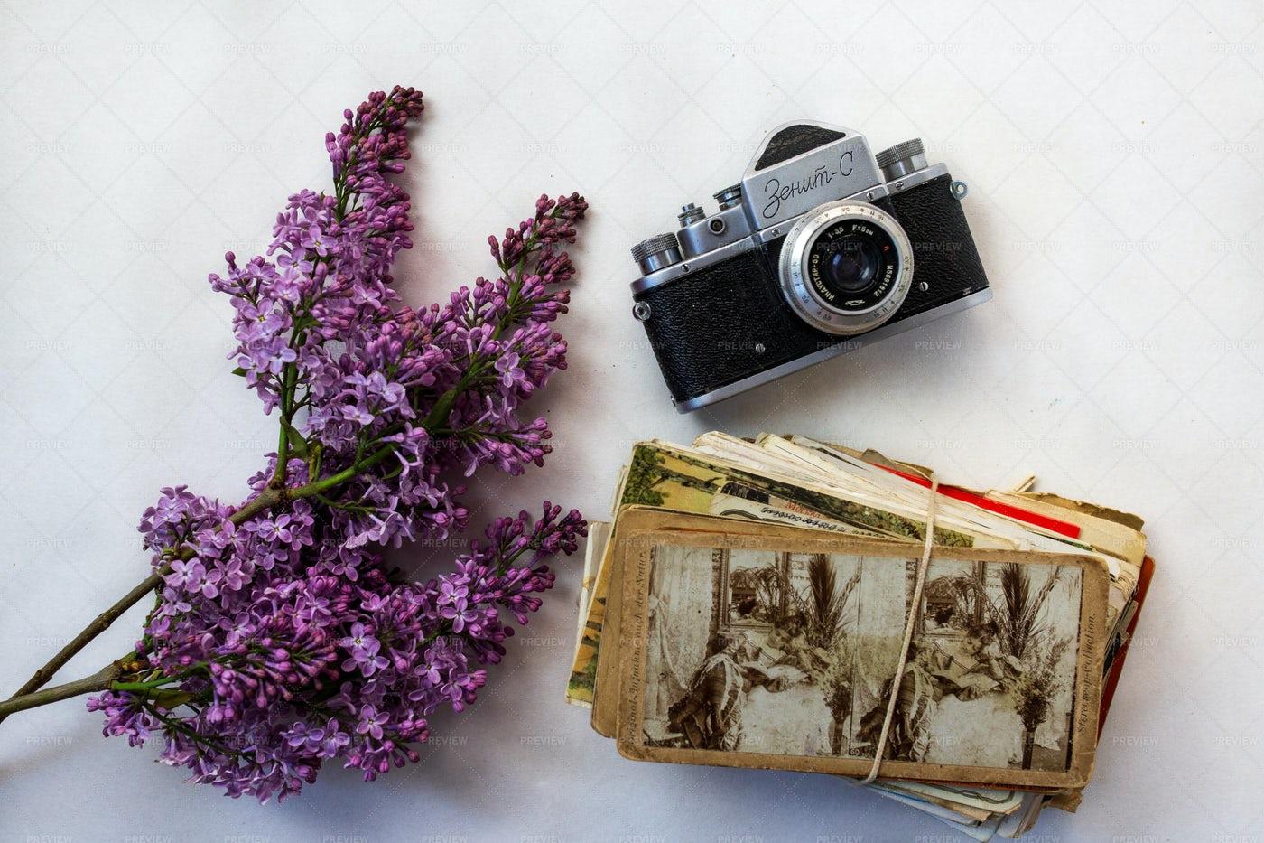Vintage Composition: Stock Photos