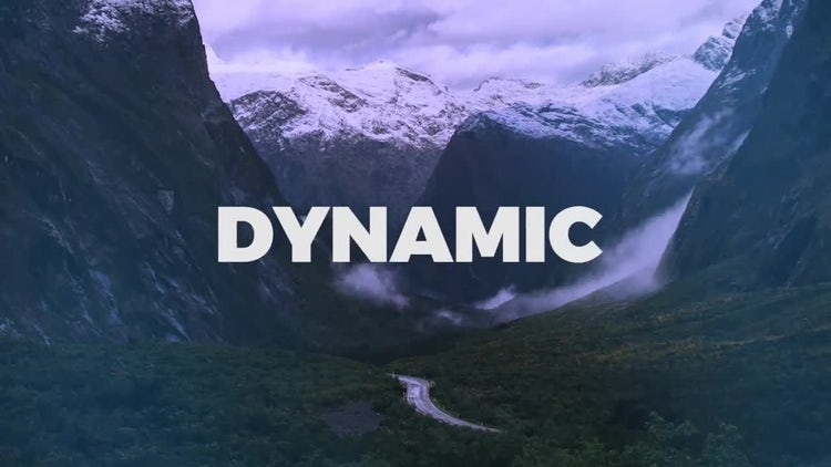 Dynamic Stomp Intro: Premiere Pro Templates