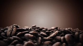 Brown Coffee Beans: Motion Graphics