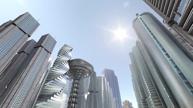 City Of The Future: Stock Motion Graphics