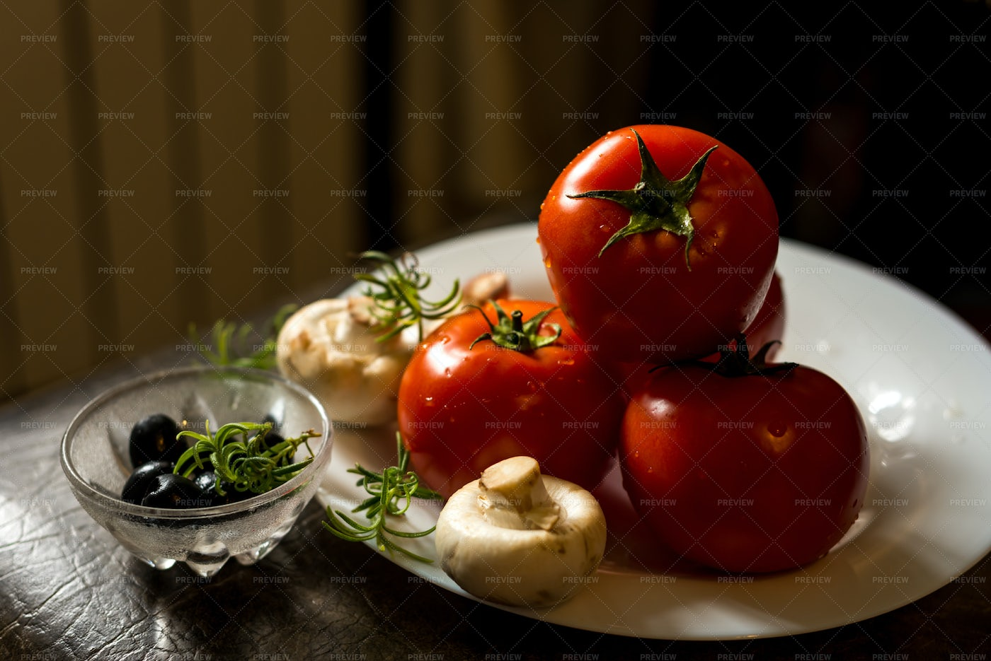 Vegetables For Italian Cooking: Stock Photos