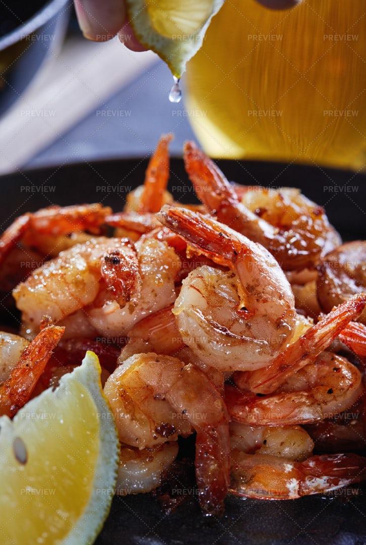Fried Shrimp: Stock Photos