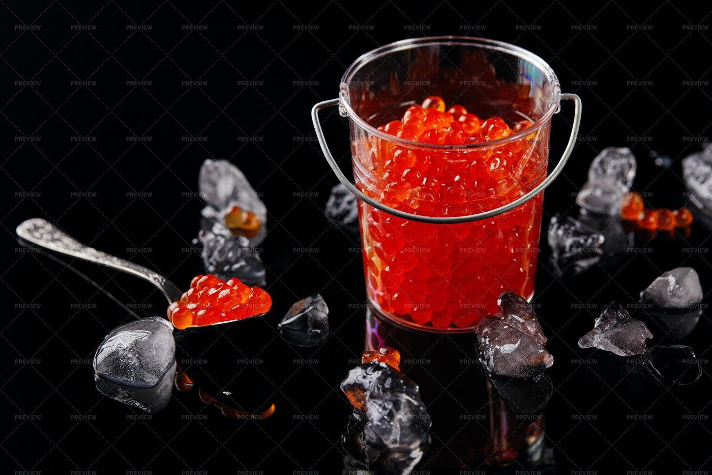 Red Caviar: Stock Photos