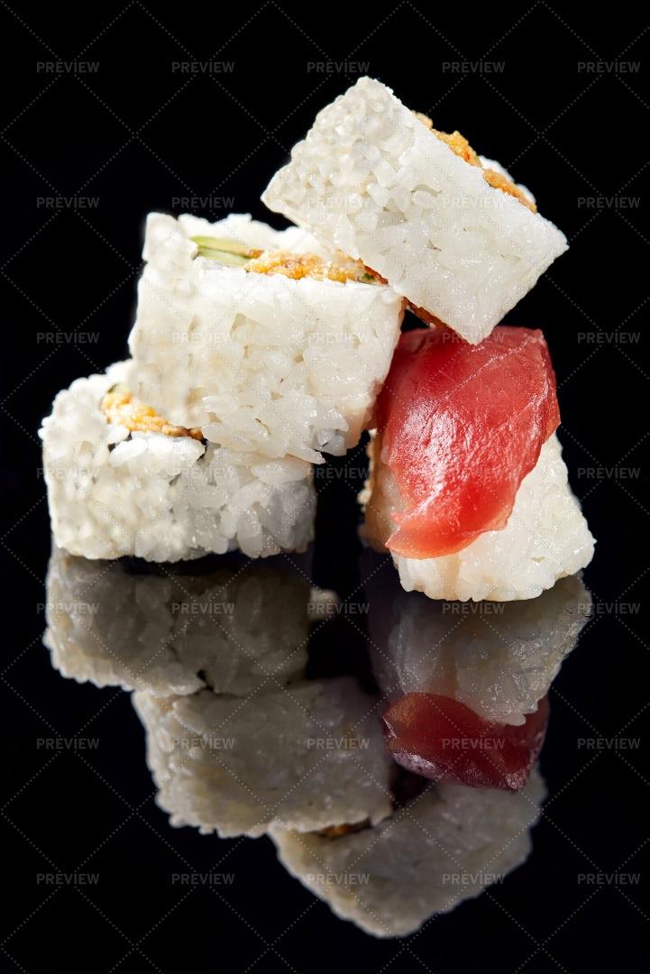 Sushi Stack: Stock Photos