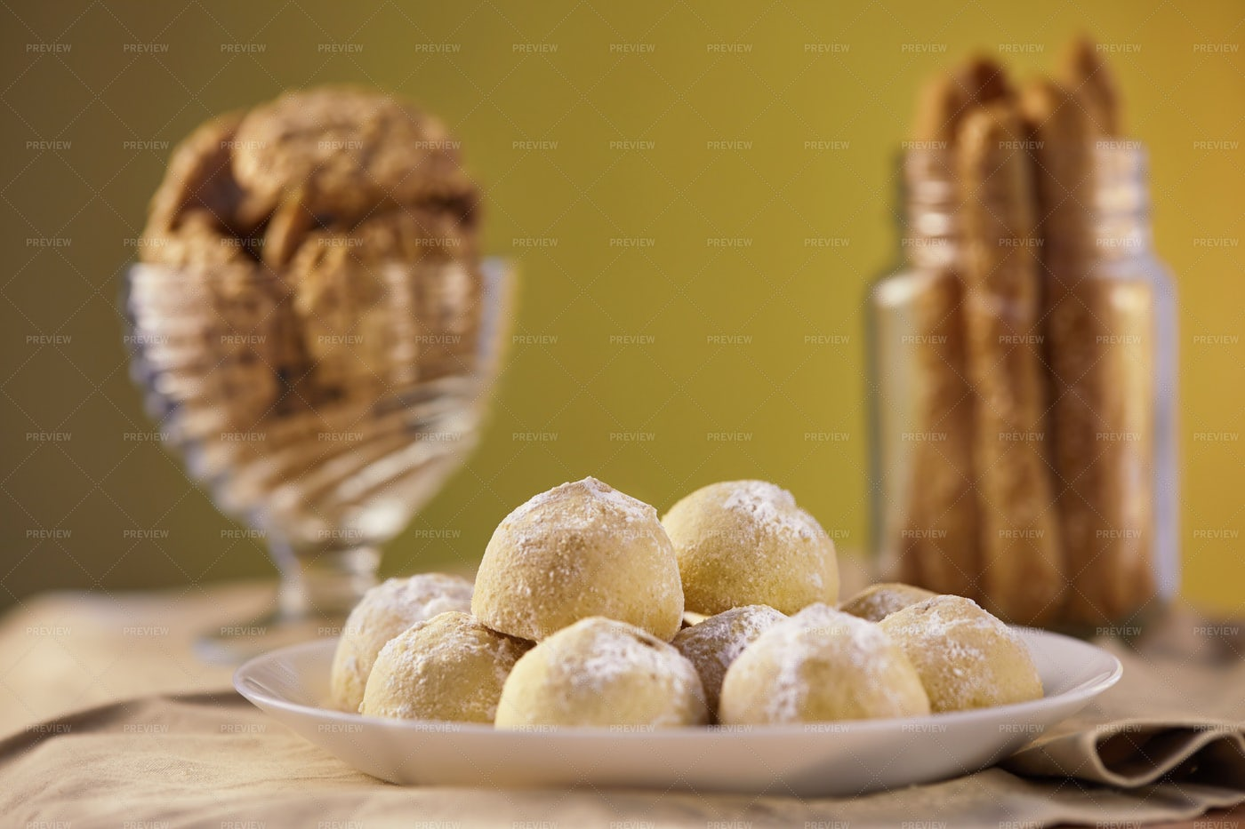Gourmet Cookies: Stock Photos