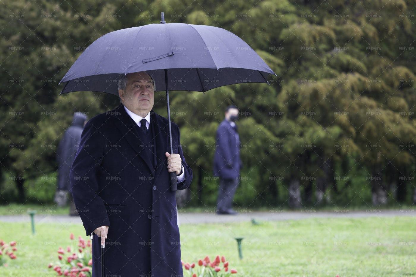 Armenian President Armen Sargsyan: Stock Photos