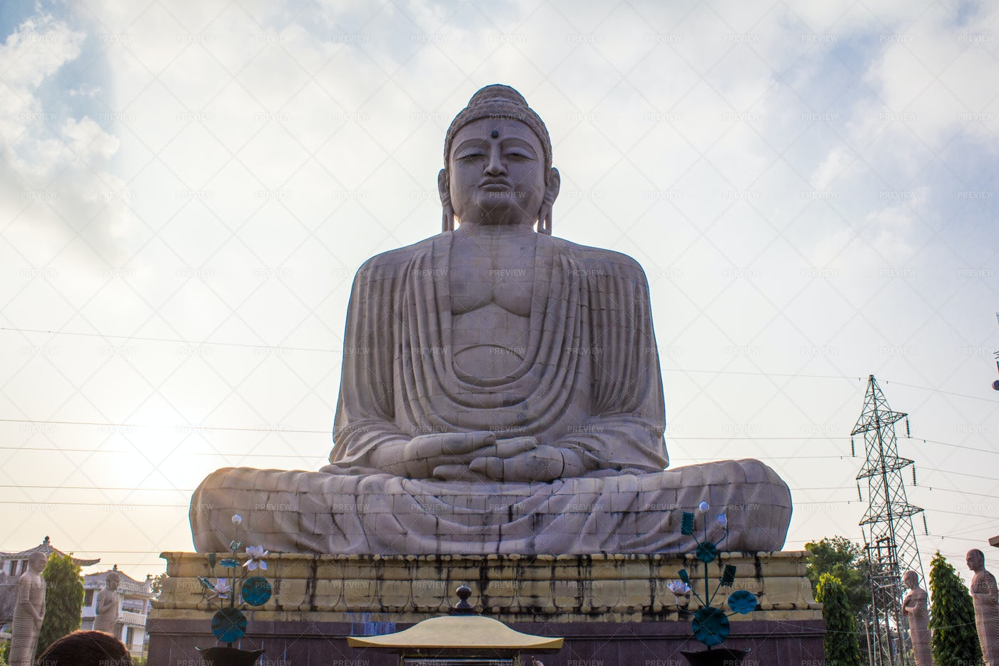 Buddha Statue In A Temple: Stock Photos