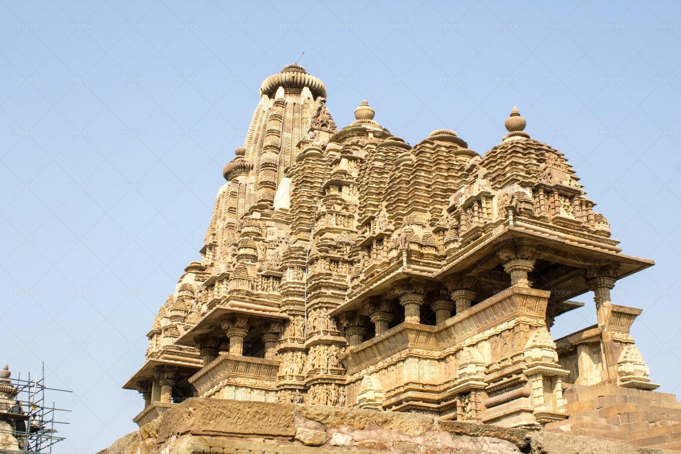 Khajuraho Monument Temple: Stock Photos