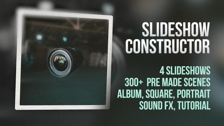 Slideshow Constructor: Premiere Pro Templates