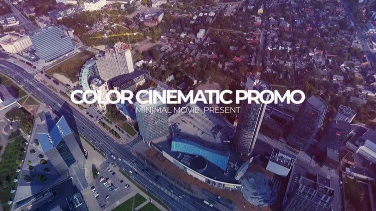 Color Cinematic Opener: Premiere Pro Templates
