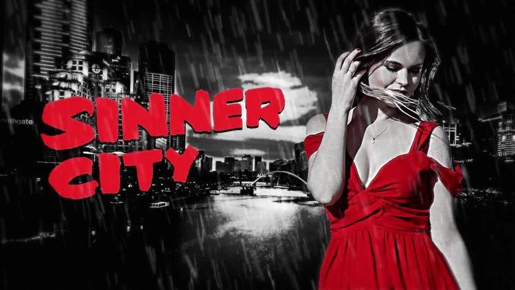 Sinner City Opener: Premiere Pro Templates