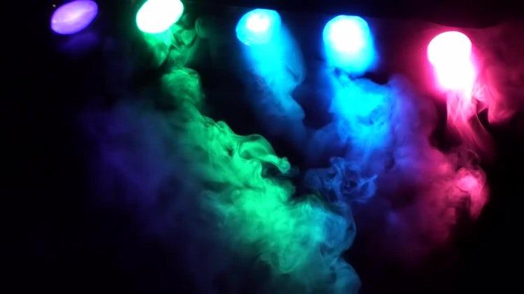 Smoke Multicolored Video: Stock Video