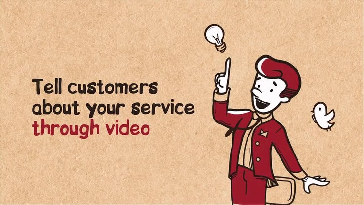 Cartoon Promo of Your Site: After Effects Templates