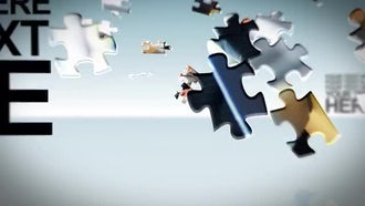 Puzzle Pieces: After Effects Templates