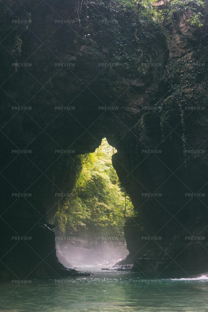 A Canyon River: Stock Photos