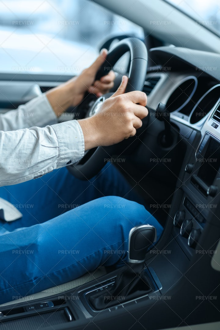 At The Wheel: Stock Photos
