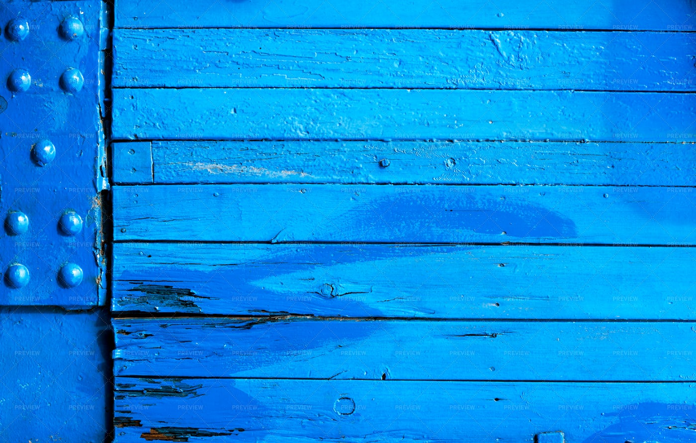 Blue Wooden Background: Stock Photos