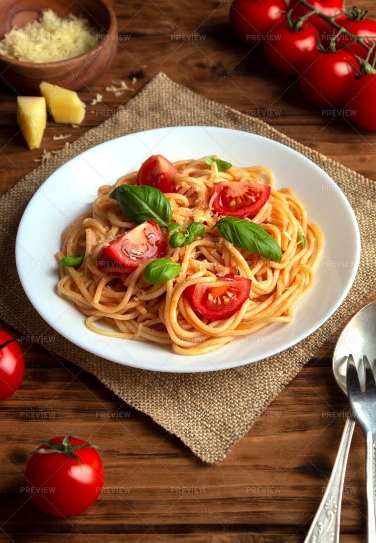 Italian Spaghetti: Stock Photos