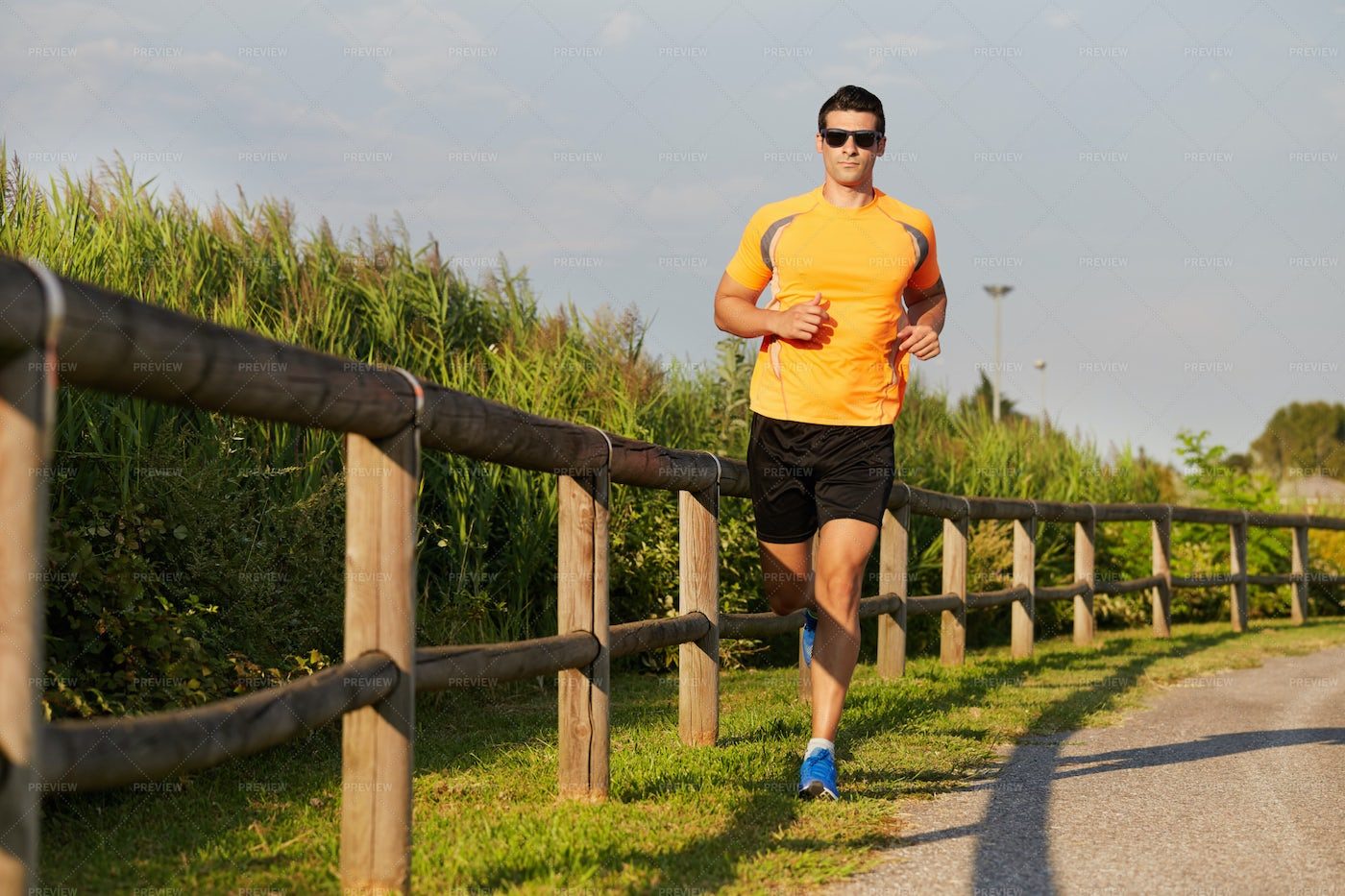 Marathon Training: Stock Photos