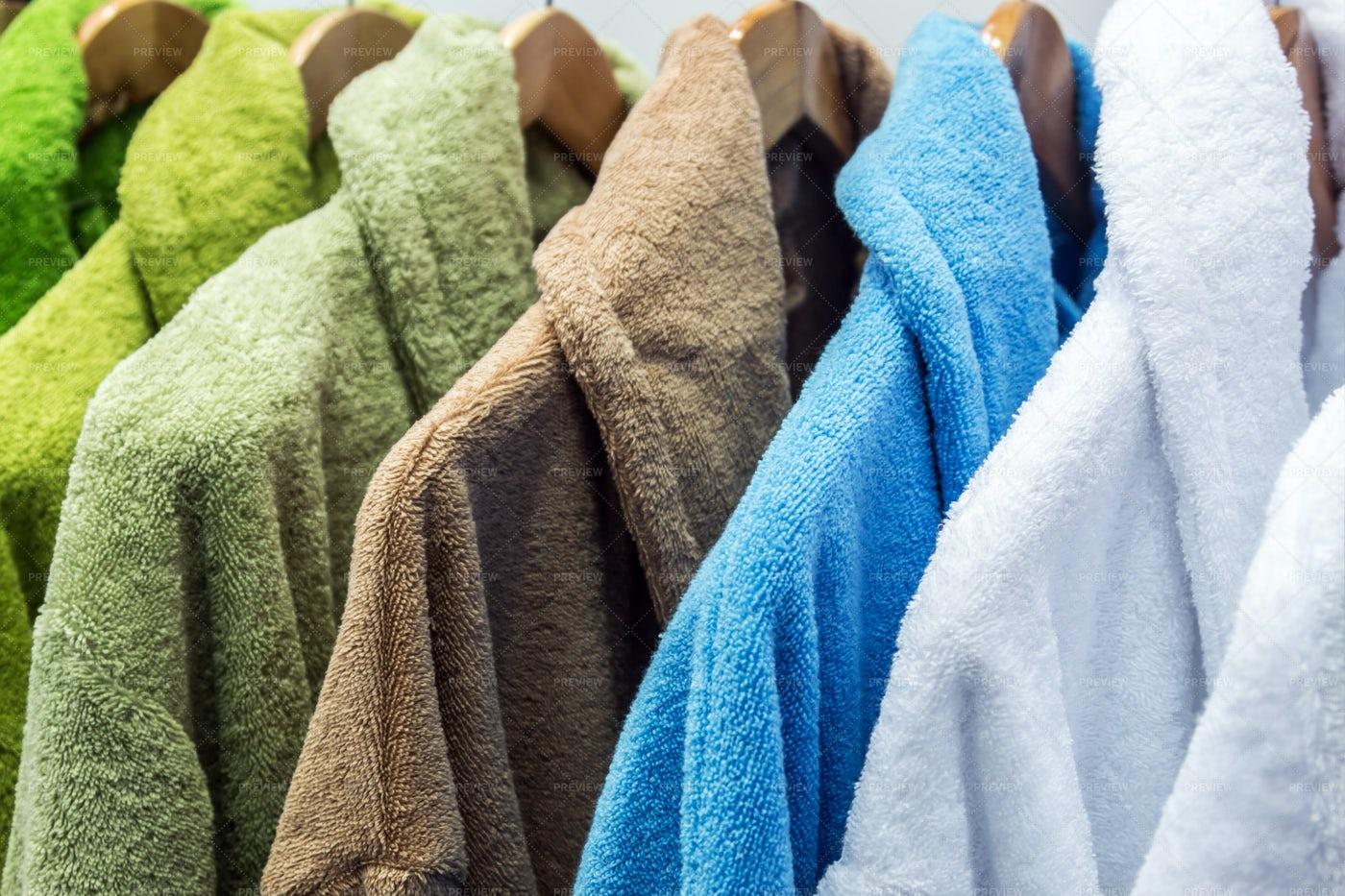 Bathrobes: Stock Photos