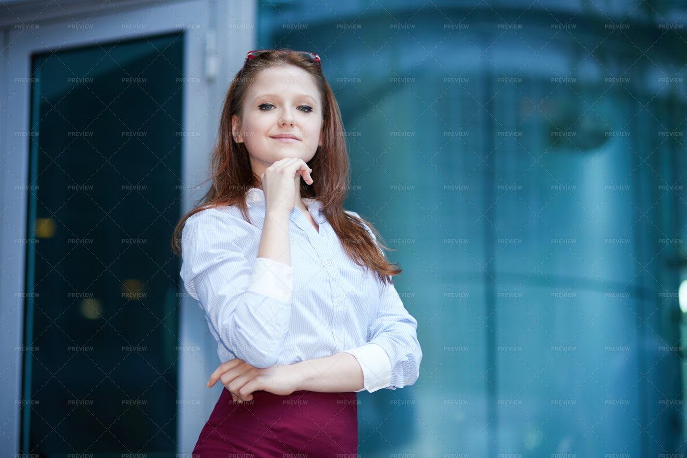Smiling Businesswoman: Stock Photos