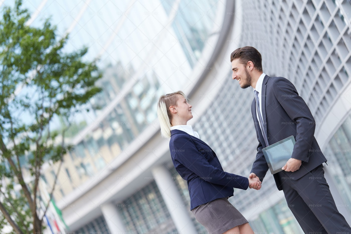 Deal With A Handshake: Stock Photos