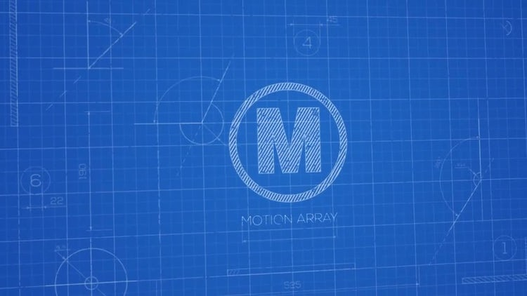 Blueprint Logo: After Effects Templates
