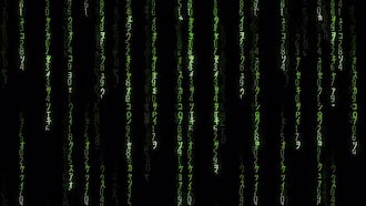 Falling Matrix Code: Motion Graphics