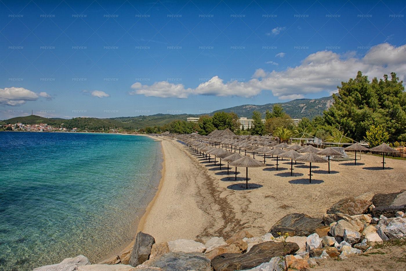 Mediteranin Beach: Stock Photos