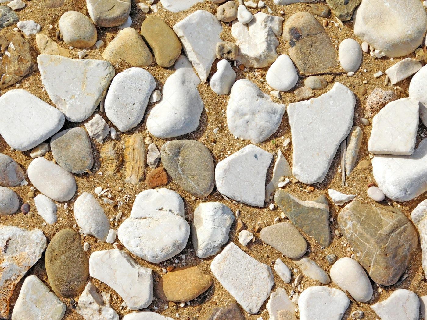 Stones At The Beach: Stock Photos
