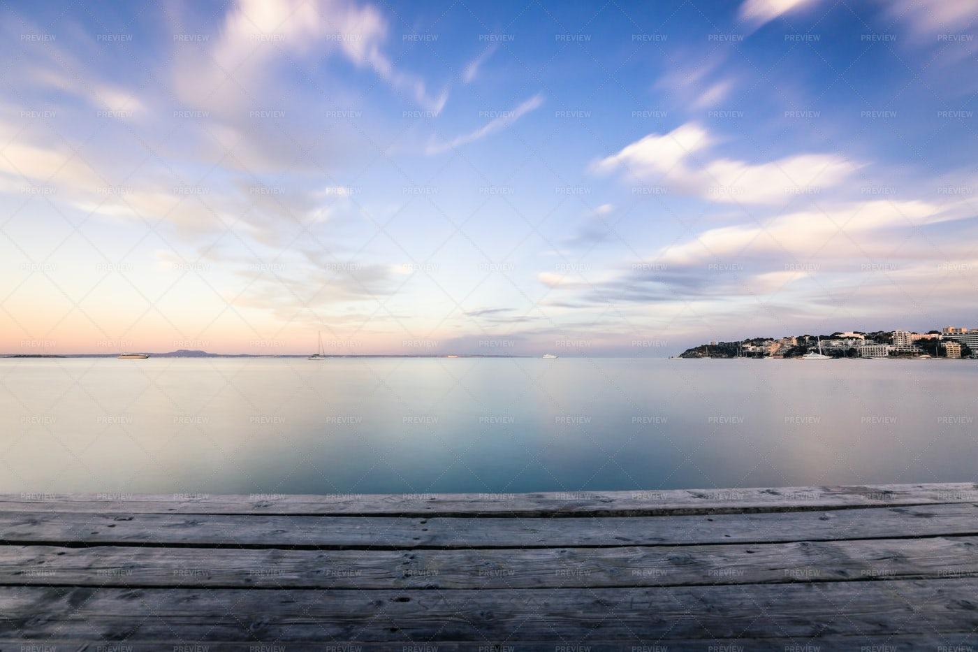 Beautiful Skies Over Mallorca: Stock Photos