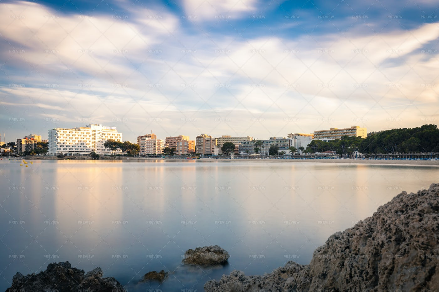 Palma De Mallorca Town: Stock Photos