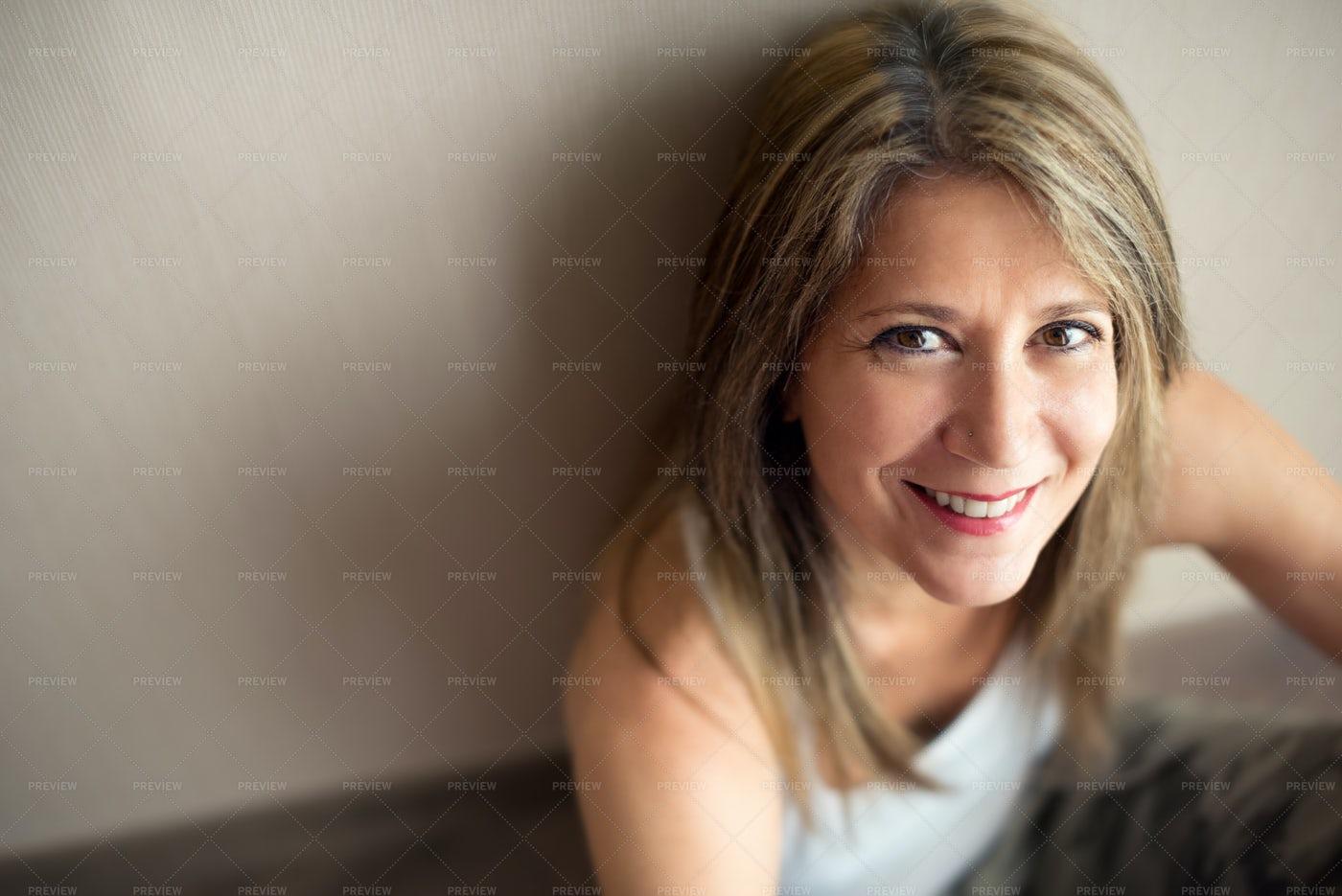 Happy Mature Woman: Stock Photos