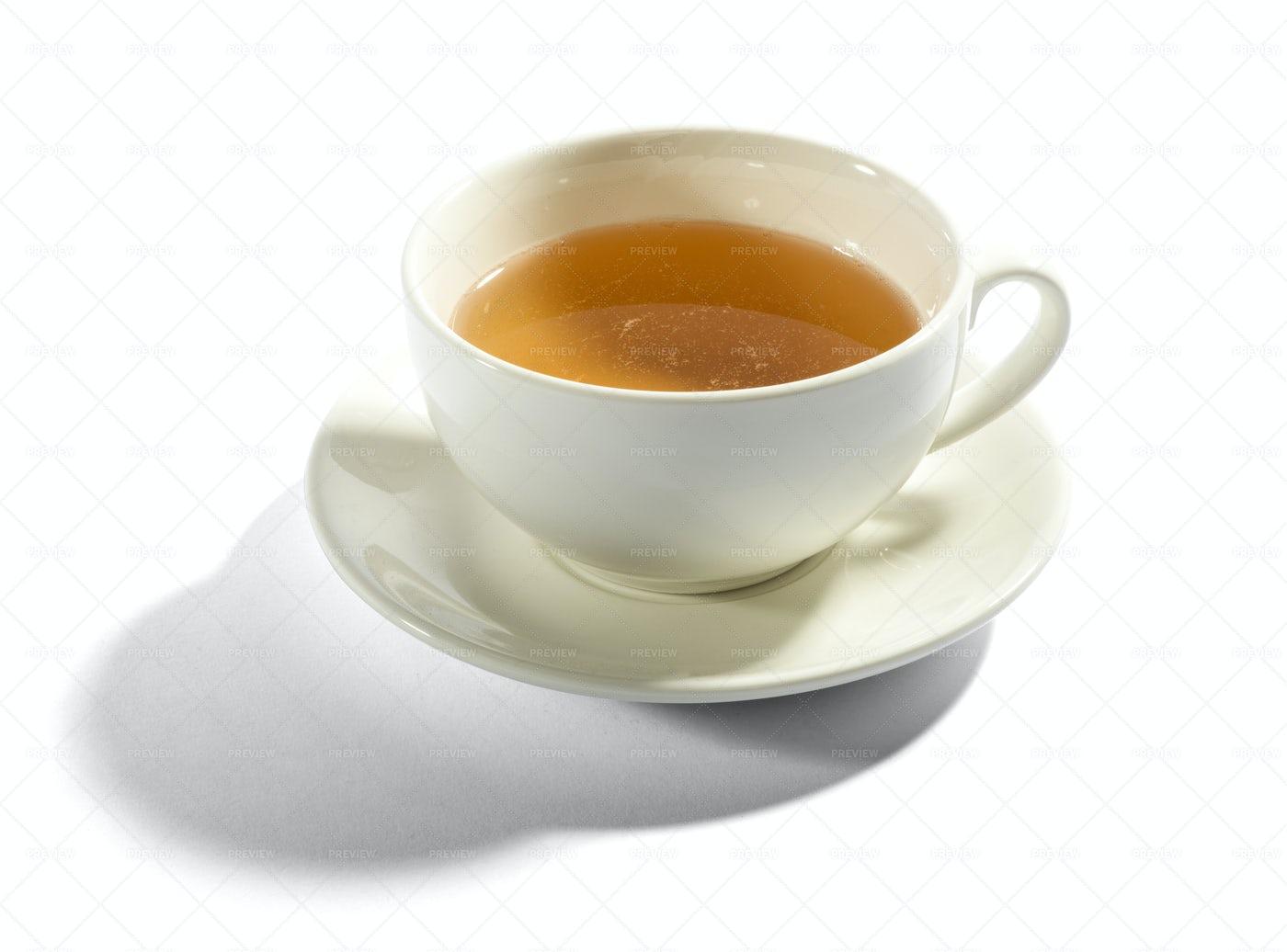 Milky Cup Of Tea: Stock Photos
