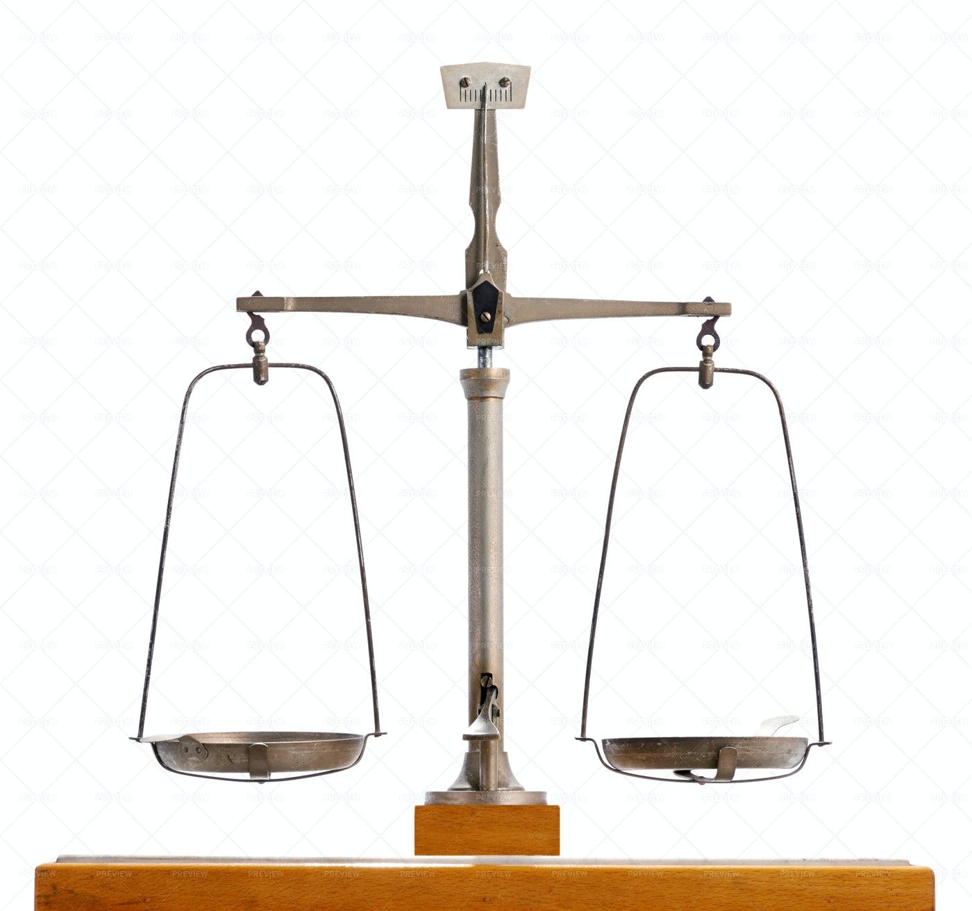 Metal Pendulum Scale: Stock Photos