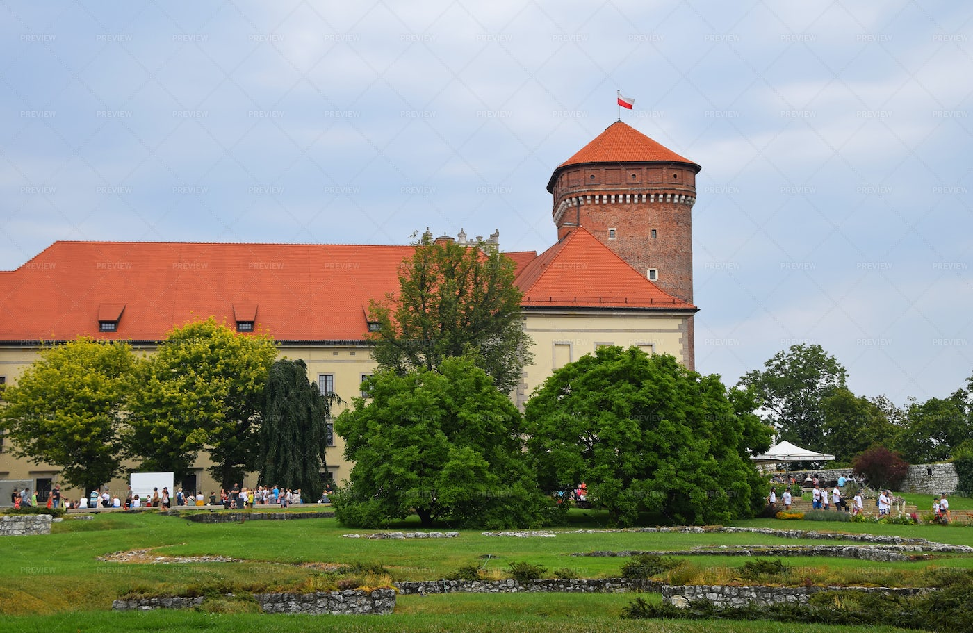 Wawel Royal Castle: Stock Photos
