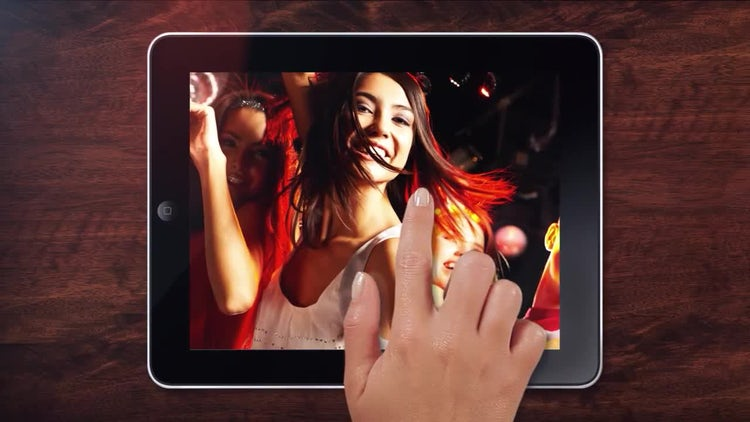 Tablet: After Effects Templates