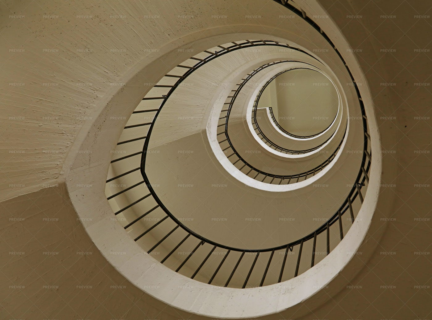 Spiral Stairs Perspective: Stock Photos