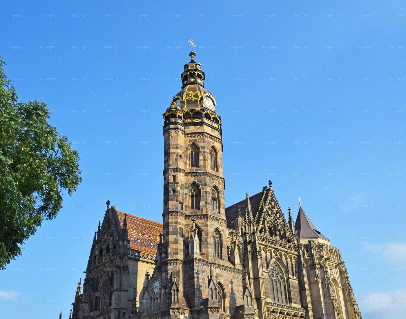 St. Elisabeth's Cathedral: Stock Photos