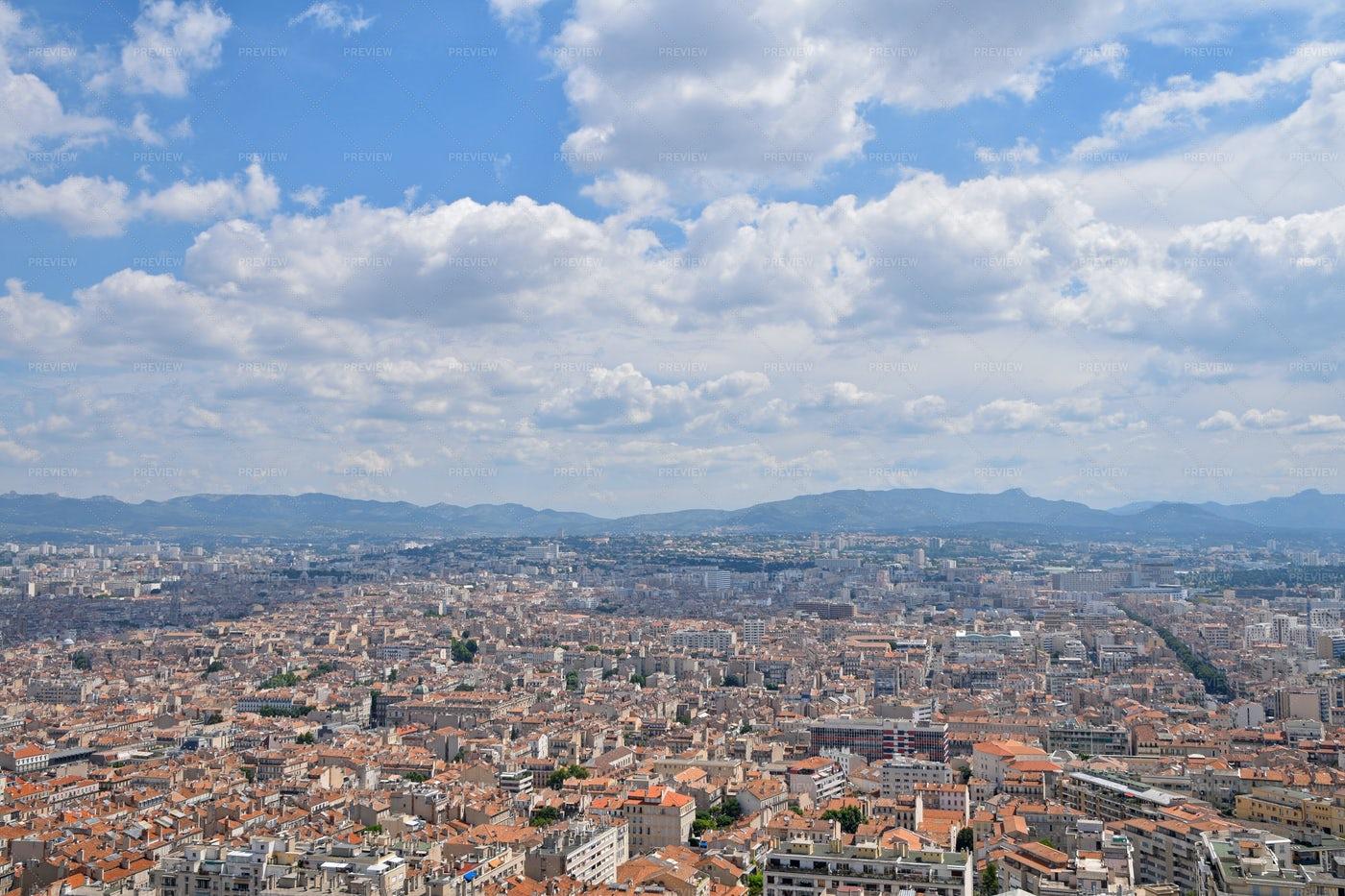 Marseille Cityscape: Stock Photos