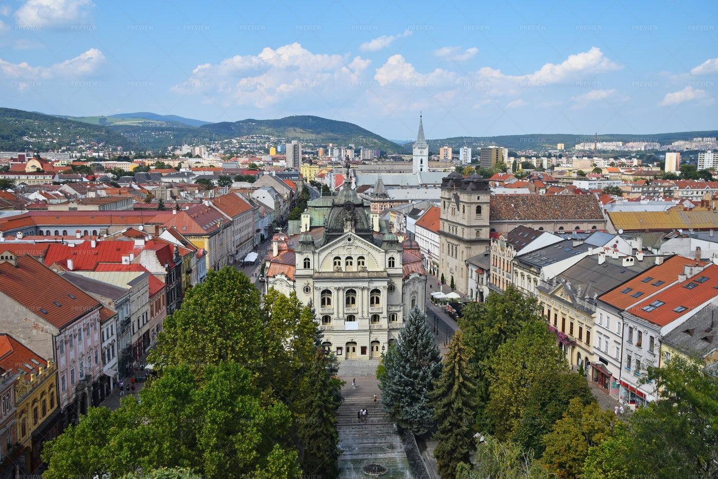 Kosice Cityscape, Slovakia: Stock Photos