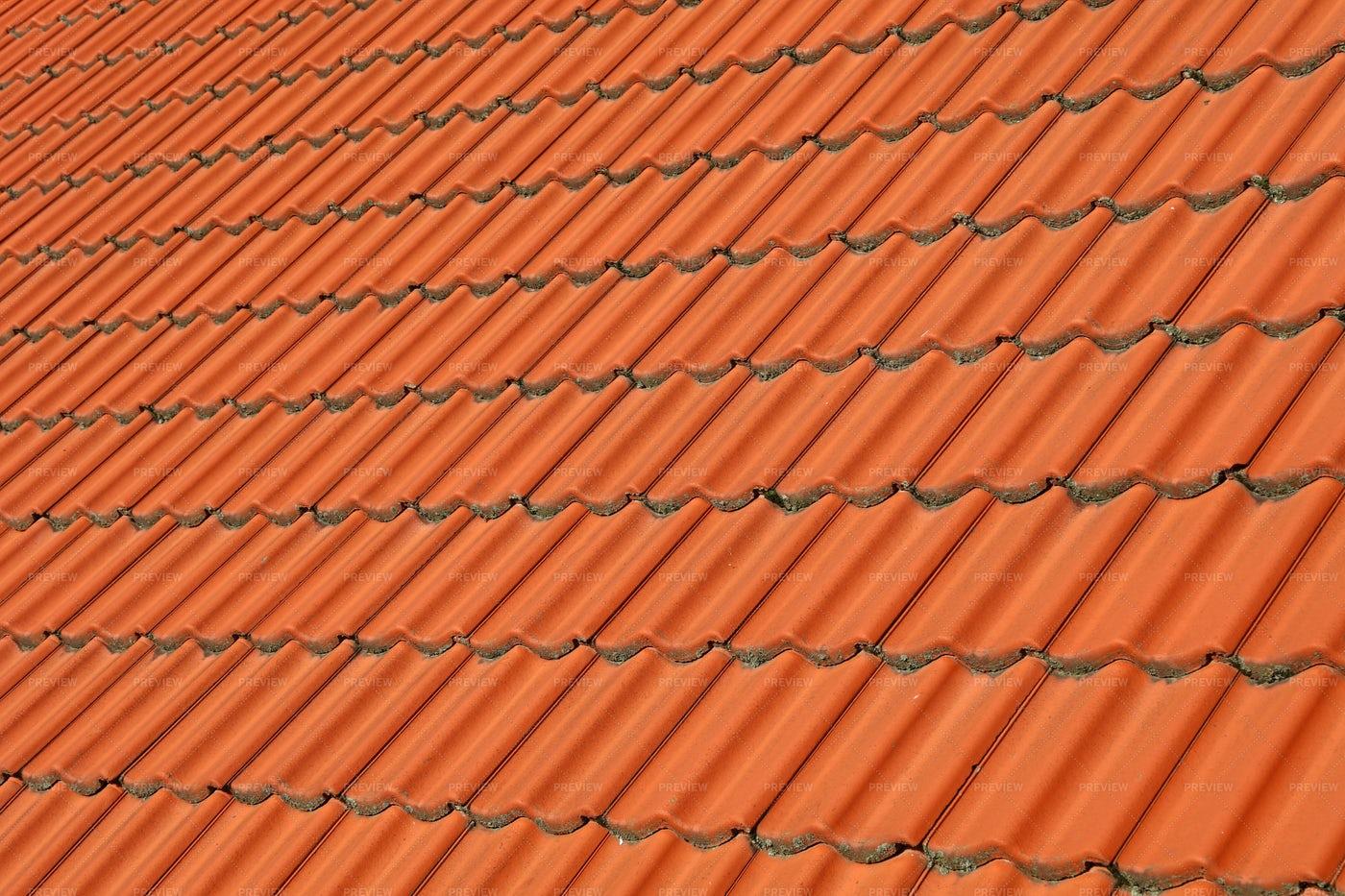 Ceramic Roof Tiles: Stock Photos