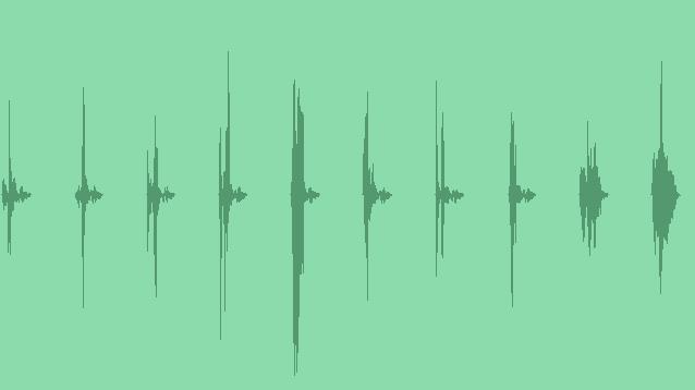 Modern Futuristic UI Elements 06: Sound Effects