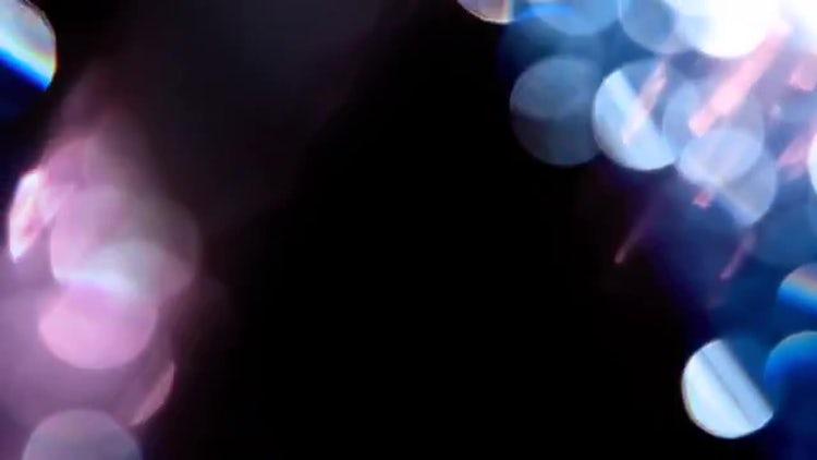 Abstract Bokeh Lights: Stock Video