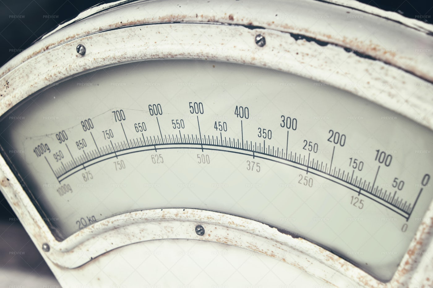 Old Vintage Weight Scales: Stock Photos